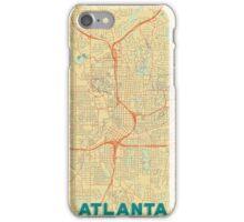 Atlanta Map Retro iPhone Case/Skin