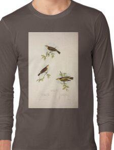 John Gould The Birds of Europe 1837 V1 V5 131 Willow Wren Long Sleeve T-Shirt