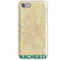 Manchester Map Retro iPhone Case/Skin