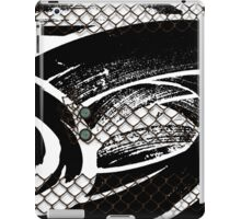 Modern abstract with buttons and Chicken wire iPad Case/Skin