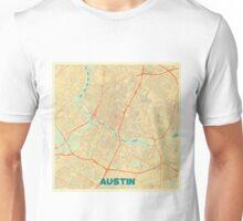 Austin Map Retro Unisex T-Shirt