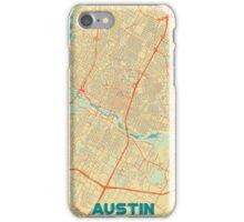 Austin Map Retro iPhone Case/Skin