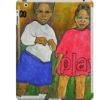 1921-My Daddy and His Sister iPad Case/Skin