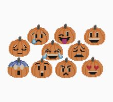 Pumpkin Emojis - The Kids' Picture Show Baby Tee