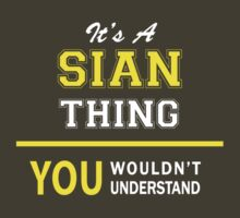 It's A SIAN thing, you wouldn't understand !! by satro