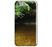 WHITE WATERFALL iPhone Case/Skin