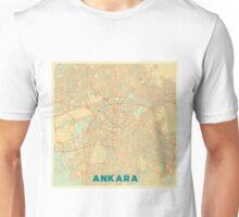 Ankara Map Retro Unisex T-Shirt