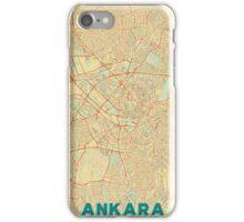 Ankara Map Retro iPhone Case/Skin