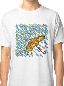 The Years Are Falling By Like The Rain Classic T-Shirt