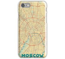 Moscow Map Retro iPhone Case/Skin