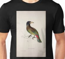 John Gould A Century of Birds from the Himalaya Mountains 1831 046 Bucco Grandis Unisex T-Shirt