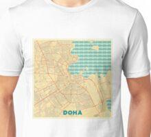 Doha Map Retro Unisex T-Shirt