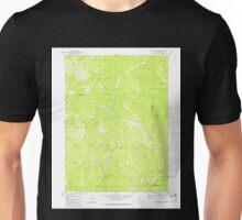USGS TOPO Map California CA Blue Creek Mtn 288504 1982 24000 geo Unisex T-Shirt