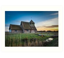 Fairfield Church Art Print