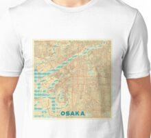 Osaka Map Retro Unisex T-Shirt