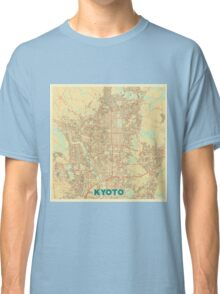 Kyoto Map Retro Classic T-Shirt