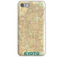 Kyoto Map Retro iPhone Case/Skin