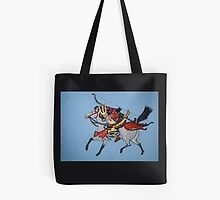 Samurai Warrior Tote Bag by Shulie1