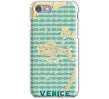 Venice Map Retro iPhone Case/Skin