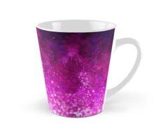 Bright pink glitter black cool galaxy pattern Tall Mug