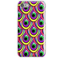 bright scales in rainbow colors iPhone Case/Skin