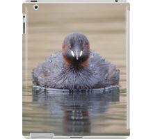 Little Grebe (Tachybaptus ruficollis) iPad Case/Skin