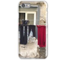 Washday in Naples iPhone Case/Skin