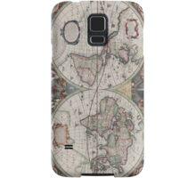 Vintage Map of The World (1630) Samsung Galaxy Case/Skin