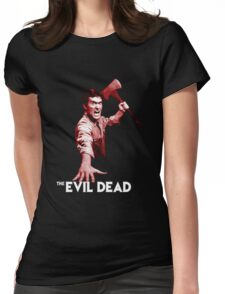 the evil slayer Womens Fitted T-Shirt