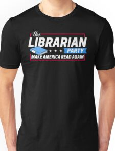 Librarian Party: Make America Read Again T-Shirt
