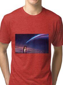 Kimi no na wa Scene Tri-blend T-Shirt