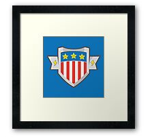 American Gamer Framed Print