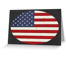 Vintage Stars and Stripes  Greeting Card
