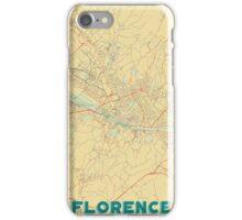Florence Map Retro iPhone Case/Skin