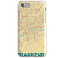 Frankfurt Map Retro iPhone Case/Skin