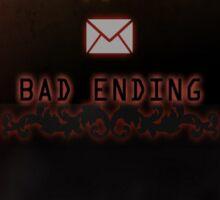 Mystic Messenger Bad Ending Sticker