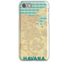 Havana Map Retro iPhone Case/Skin