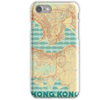 Hong Kong Map Retro iPhone Case/Skin