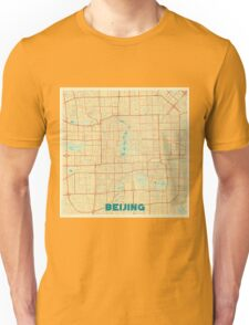 Beijing Map Retro Unisex T-Shirt