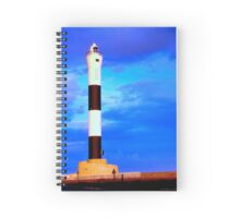 Dungeness Lighthouse Kent England UK #1 Spiral Notebook