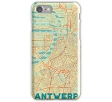 Antwerp Map Retro iPhone Case/Skin