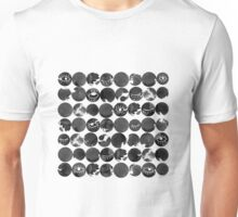 Ink dots with eyes Unisex T-Shirt