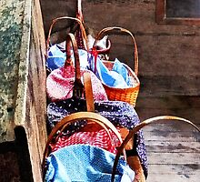 Lunch Baskets in One Room Schoolhouse by Susan Savad