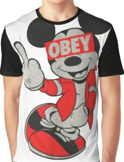 never obey Graphic T-Shirt