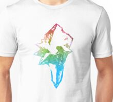 °FINAL FANTASY° Final Fantasy IX Rainbow Logo Unisex T-Shirt
