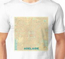 Adelaide Map Retro Unisex T-Shirt