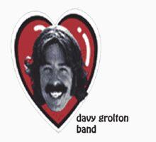 davy grolton band t-shirt by Mrshneebly