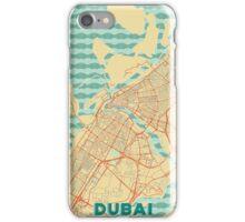 Dubai Map Retro iPhone Case/Skin