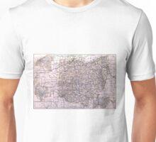 Vintage Map of Ohio (1884)  Unisex T-Shirt