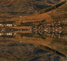 Autumn Colours and Reflections in Scotland Sticker